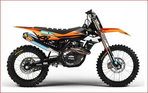 KTM Graphics kits Australia
